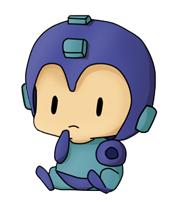 Tiny Megaman by Alfabt