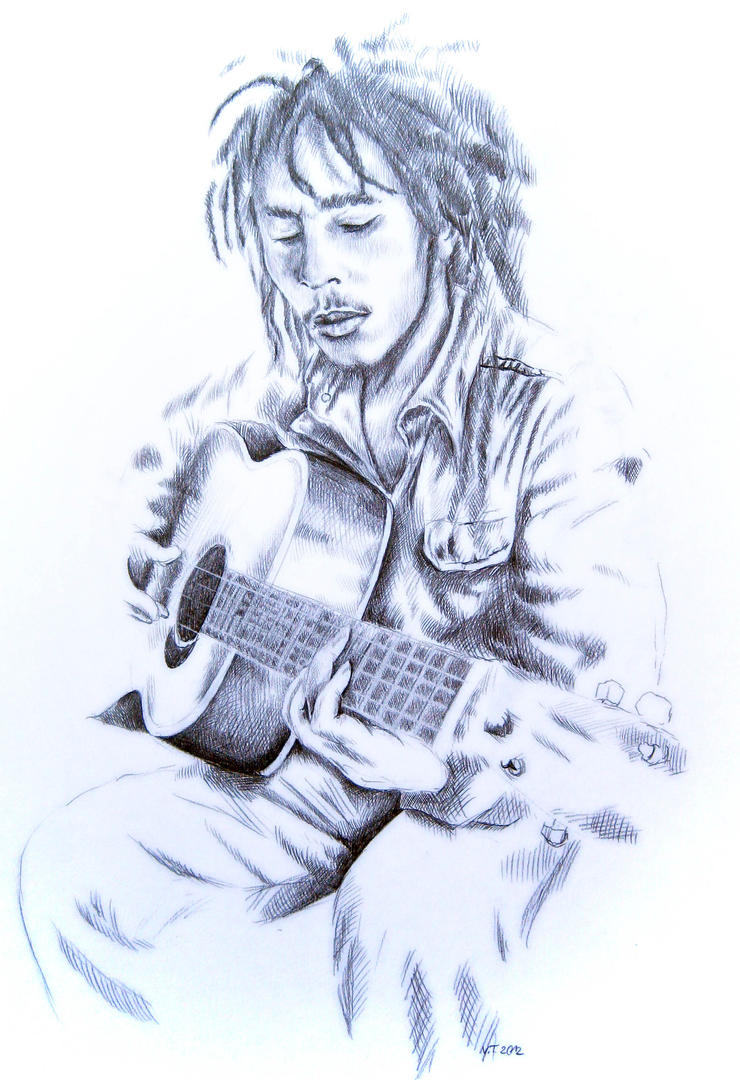 Bob Marley II by ZhaoT