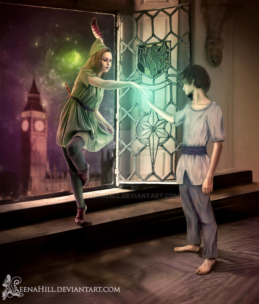 Peter Pan Gender Bender by LeenaHill