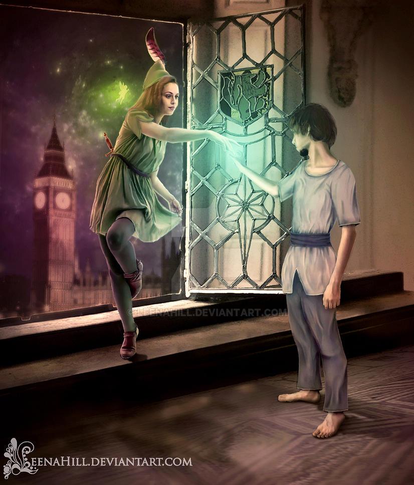 Peter Pan Gender Bender by LeenaHill
