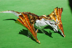 Scaled Wyvern by Blue-Paper