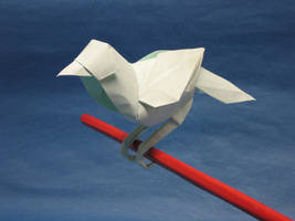 That Little Bird... by Blue-Paper