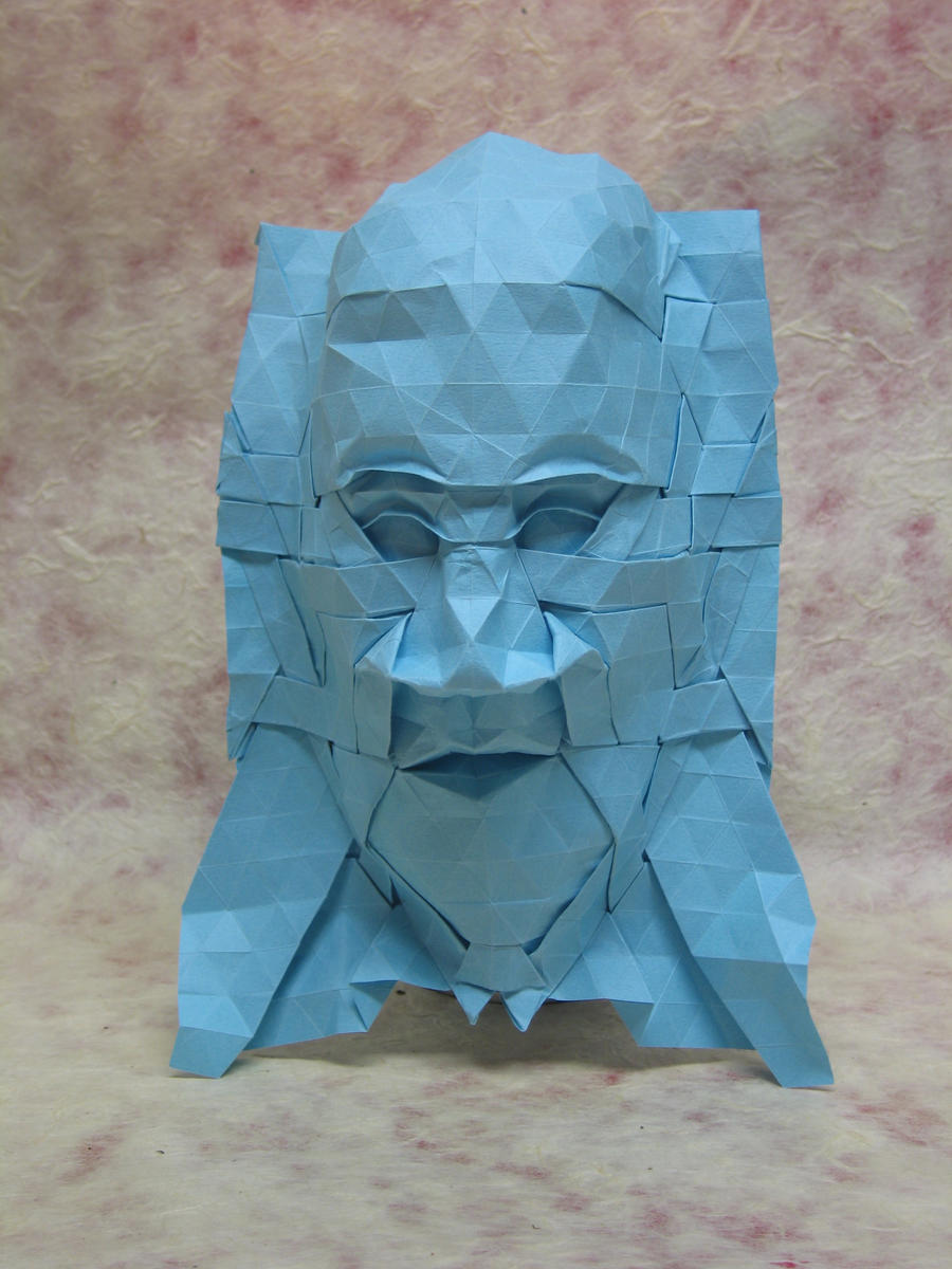 Tessellation Mask 7 By Blue Paper