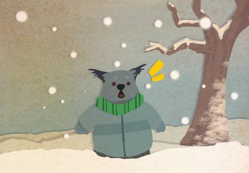 Laz is a snowball