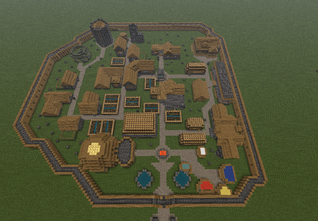 Minecraft city build by ultimatedroidz98 on deviantart for What do u need to build a house