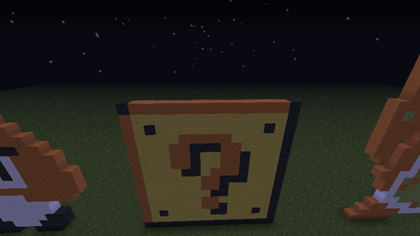 Minecraft Pixel Art ? Cube From Mario By Ultimatedroidz98 ...