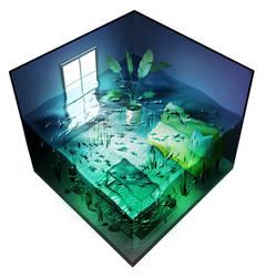 Fish room by Nin-kaii
