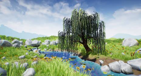 Willow 3D environment