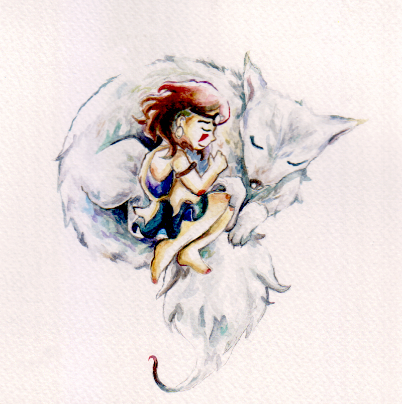 Princess Mononoke - Winter Sleep by GrandTale