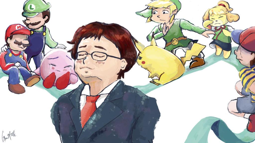 Satoru Iwata Tribute by GrandTale