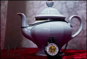 Late tea by bleedingrose11