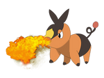 COLOR: Tepig by IceeDaHedgehog