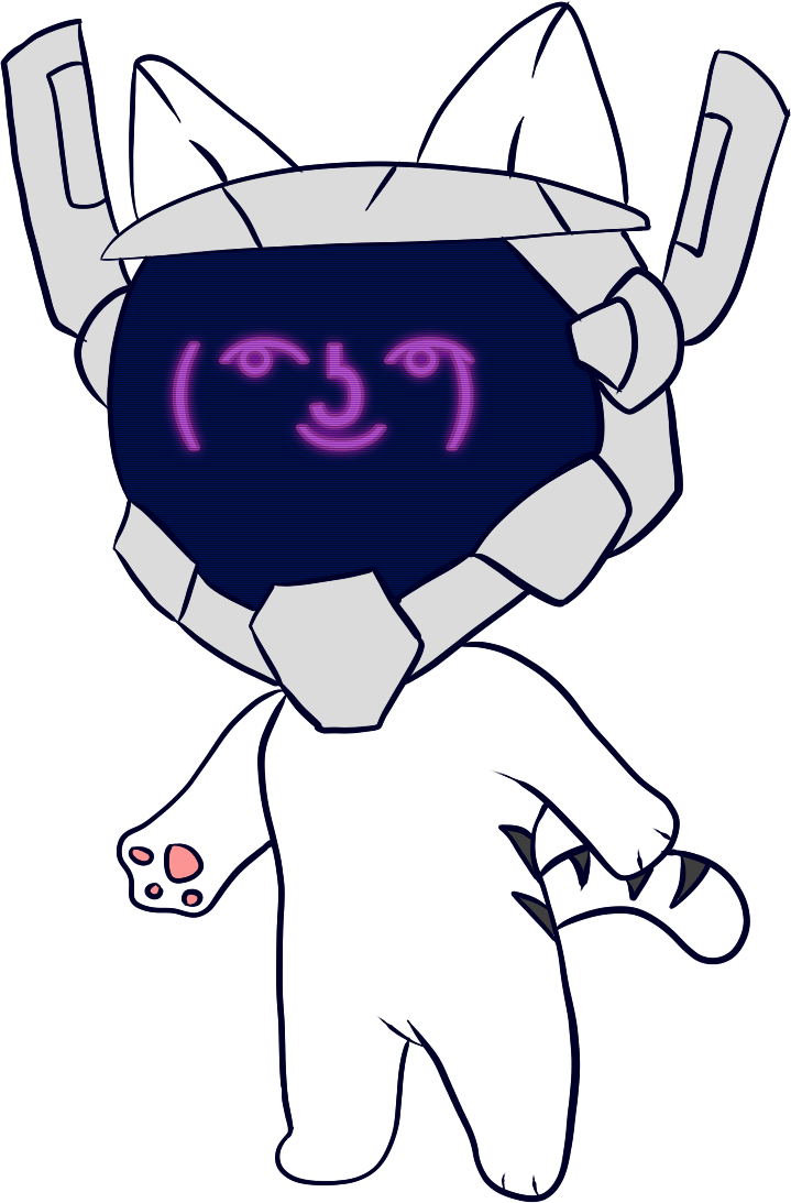 [COLOR] Robo-Nya by IceeDaHedgehog