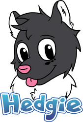 [FULL] Hedgie Badge by IceeDaHedgehog