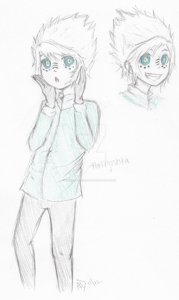 |Vocaloid X NinjaGo| Zane's Matryoshka by ArtisticDisgrace