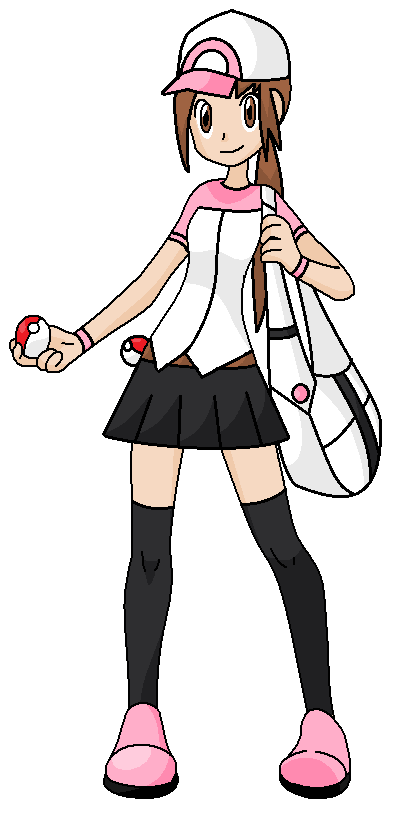 pokemon gril trainer neiked
