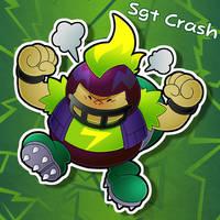 Sgt Crash the Chargin Chuck