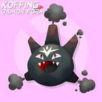 Kanto #109- Koffing Qamor Form