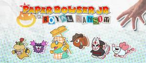 Paper Bowser Jr