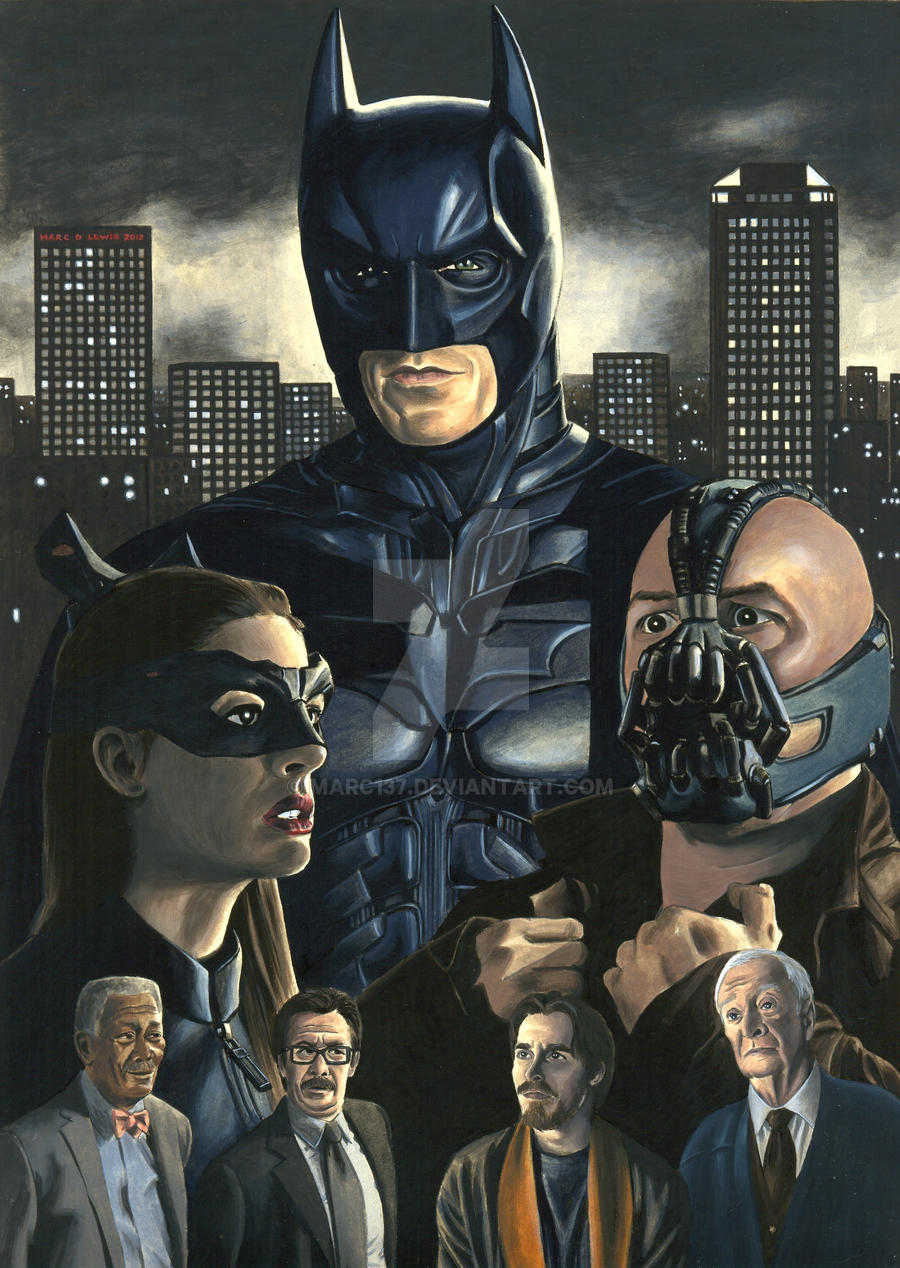 TDKR by Marc137