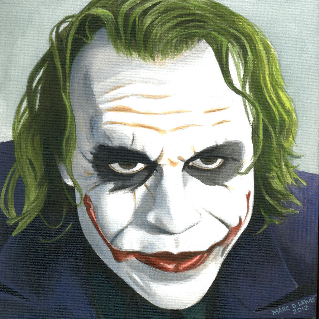 Joker Canvas by Marc137