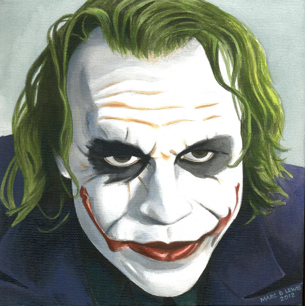 Joker Canvas by Marc137