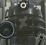 Genesis Dalek canvas