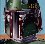 Boba Fett on Tatooine by Marc137