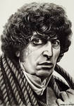 4th Doctor (charcoal) by Marc137