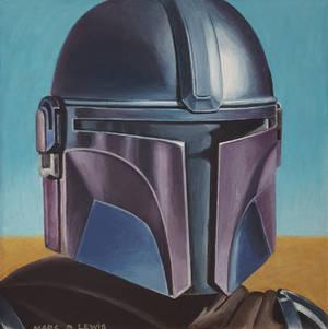 Mando on Tatooine