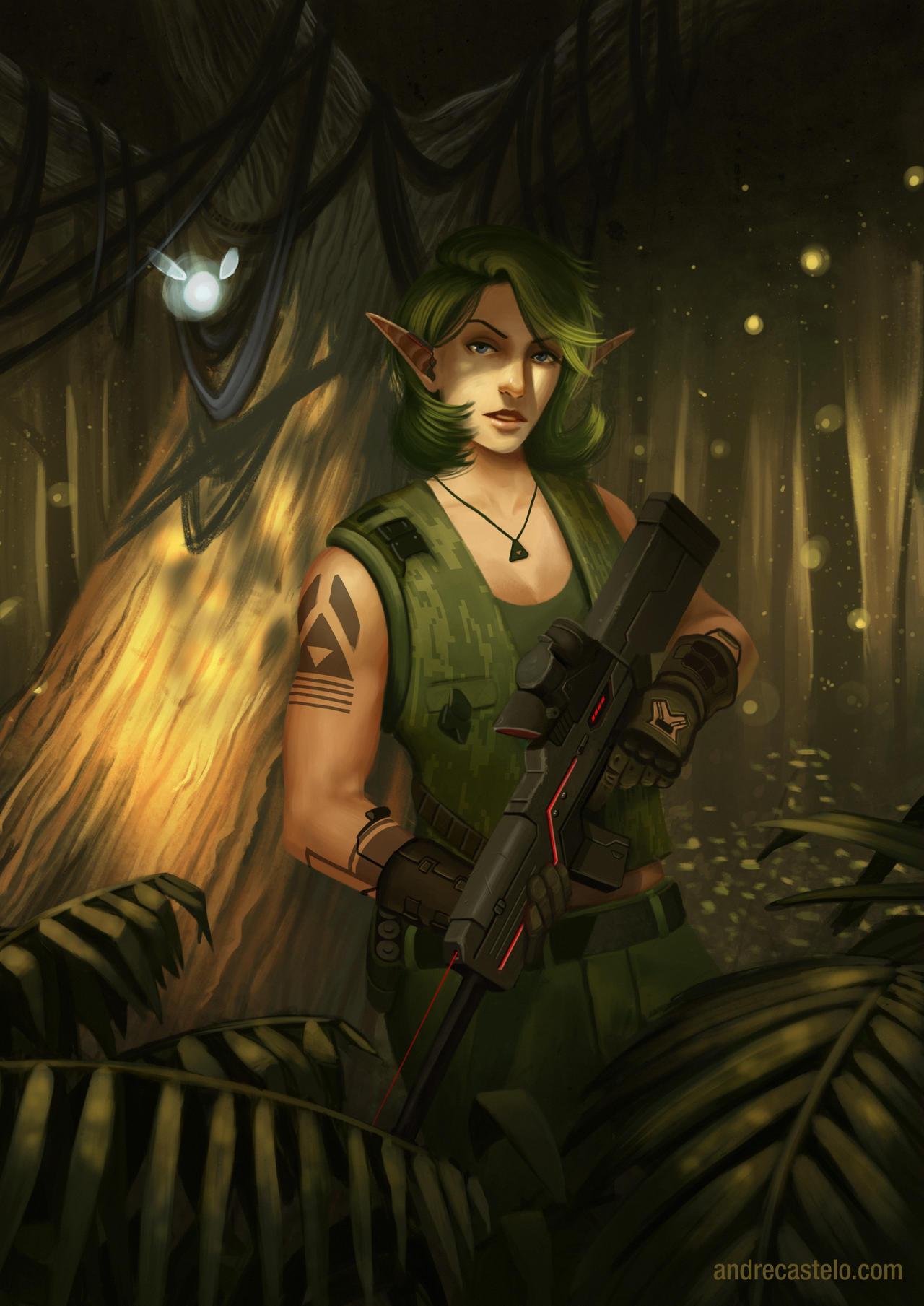 Cyberpunk: Saria by andrecastelo on DeviantArt