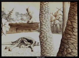 Bed of Flesh by WaylonRowley