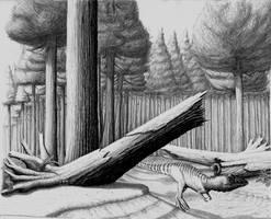 Dilophosaurus wetherilli by WaylonRowley