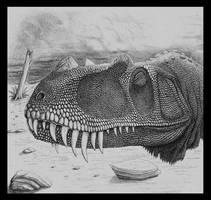 Ceratosaurus juvenile by WaylonRowley
