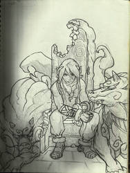 Fou Lou from Breath of Fire IV
