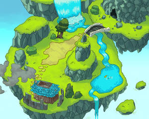 Green Rock Island