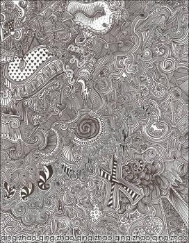 Maze Doodle 03