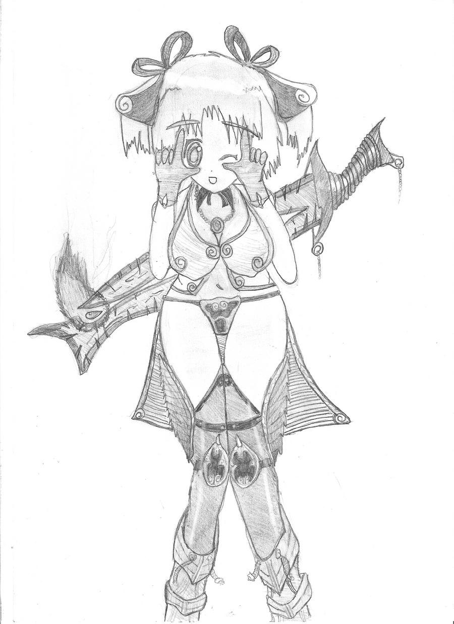 Deathbringer Konikara-chan by Hirotaka666