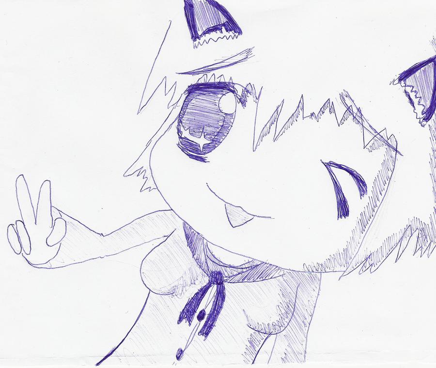 Chibi girl by Hirotaka666