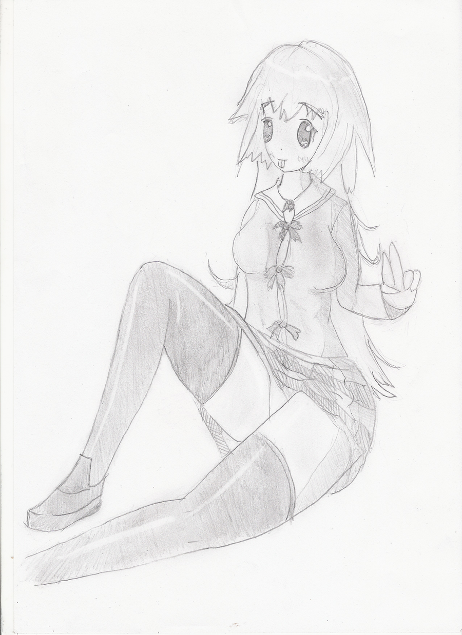 Just a girl.. by Hirotaka666