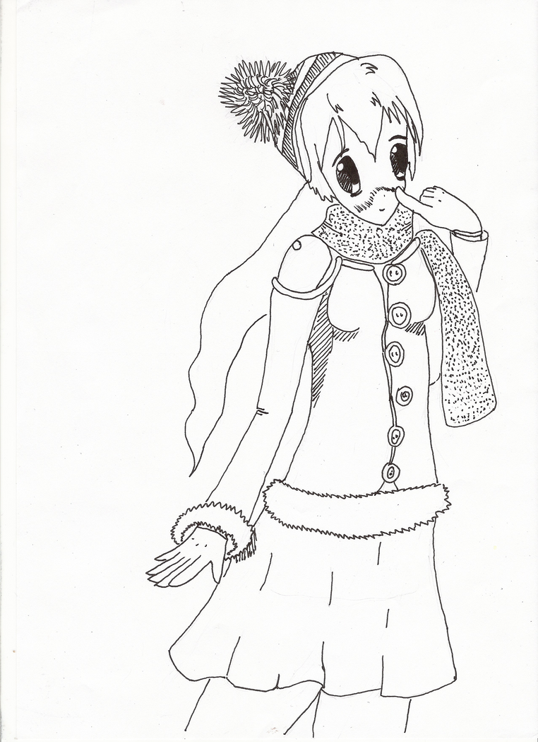 Winter-girl by Hirotaka666