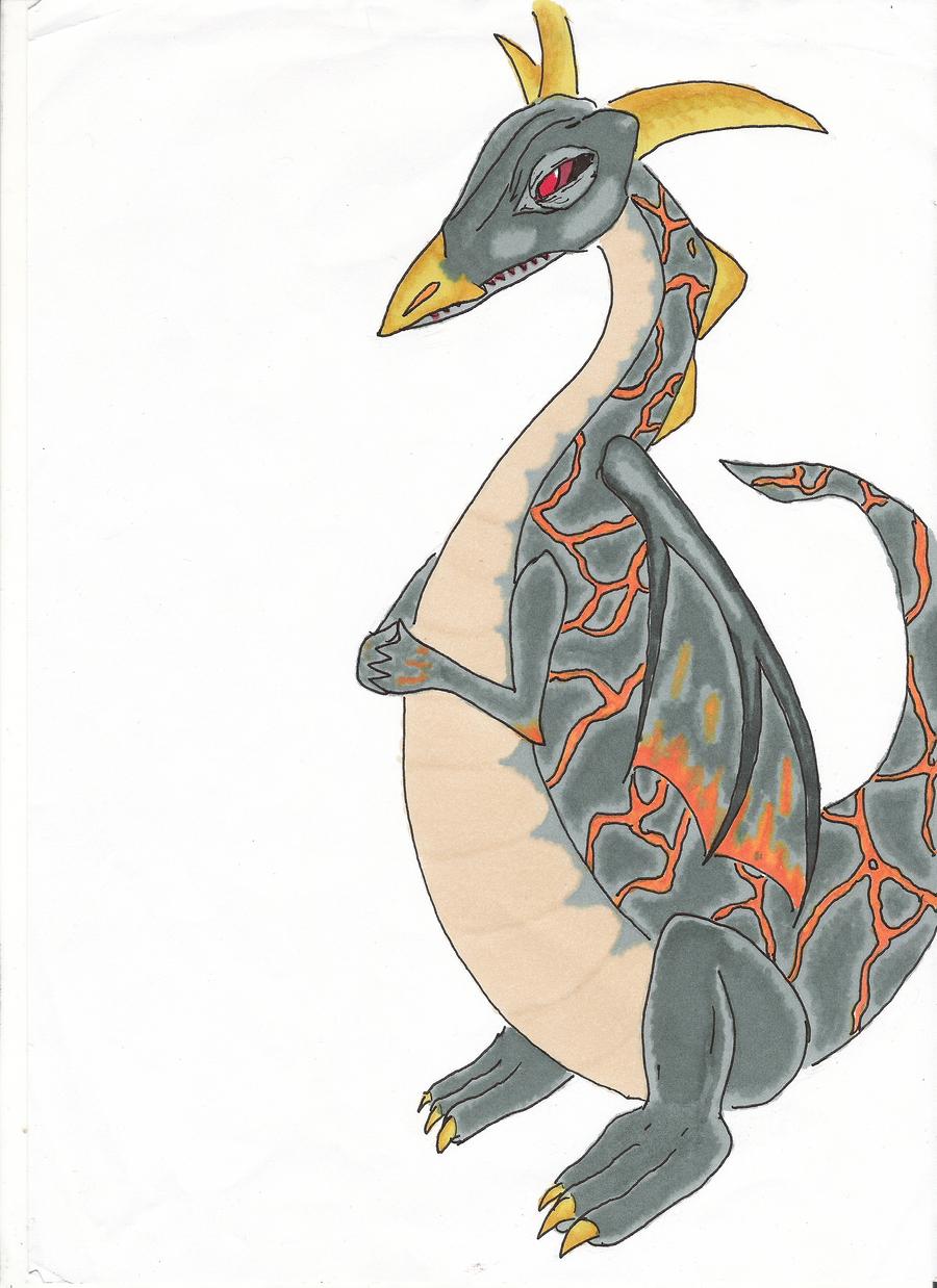 sort of dragon? XD by Hirotaka666