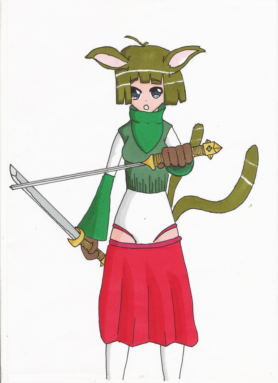 Sword Girl by Hirotaka666