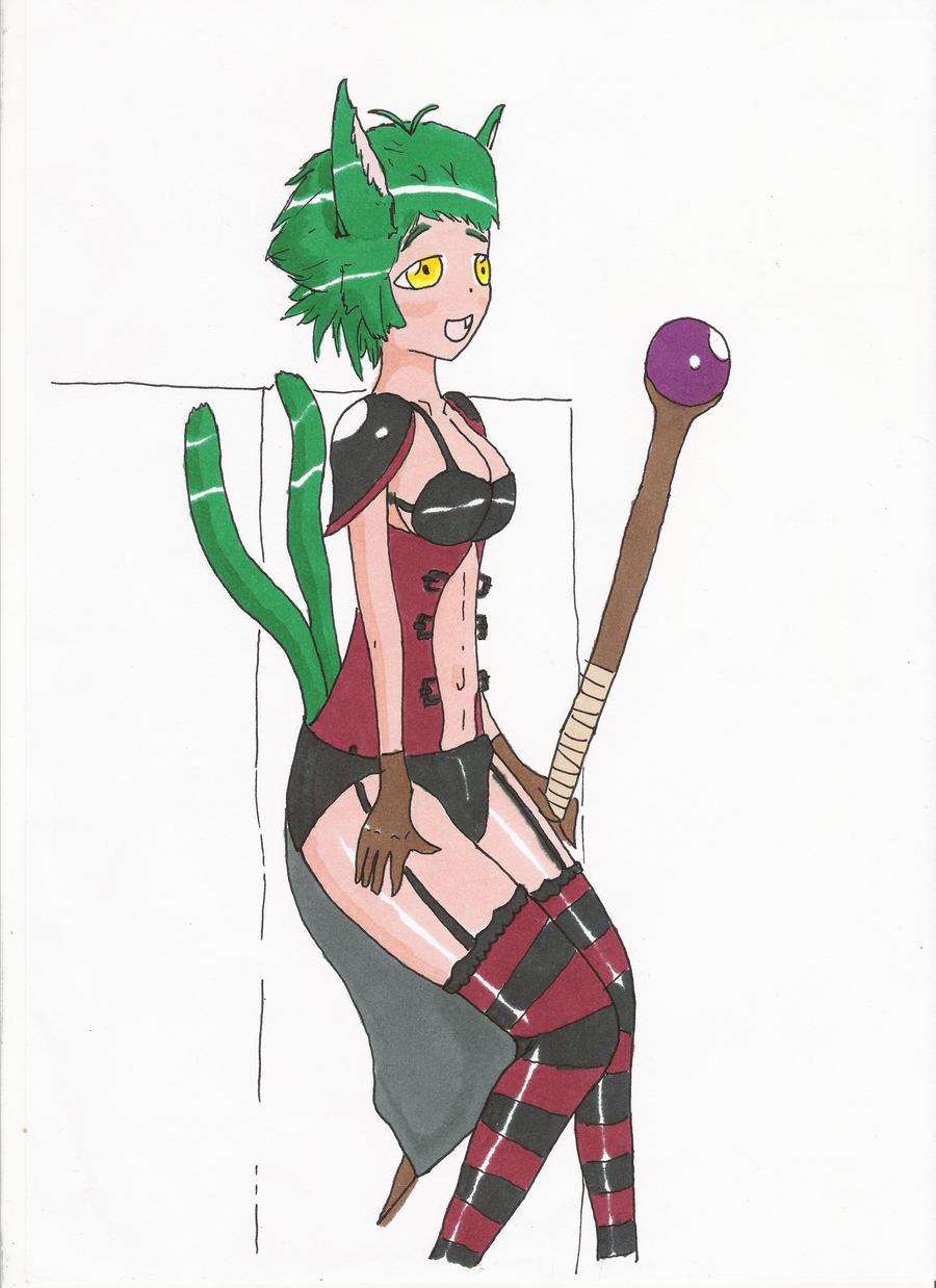 Magic Girl by Hirotaka666
