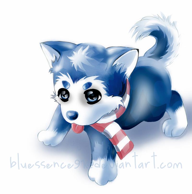 anime baby husky by bluessence91 on deviantart