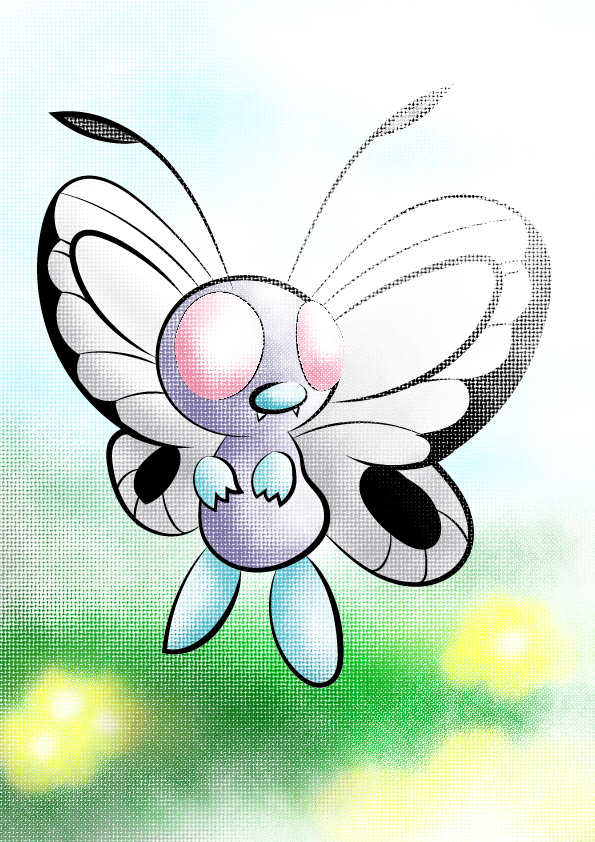 Butterfree by Zeroblack97