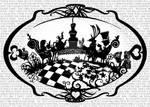 Alice In Wonderland Tea Party Paper Cut