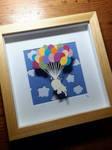 Light As A Feather - Original Papercut