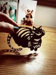 Cheshire Cat - Original Papercut