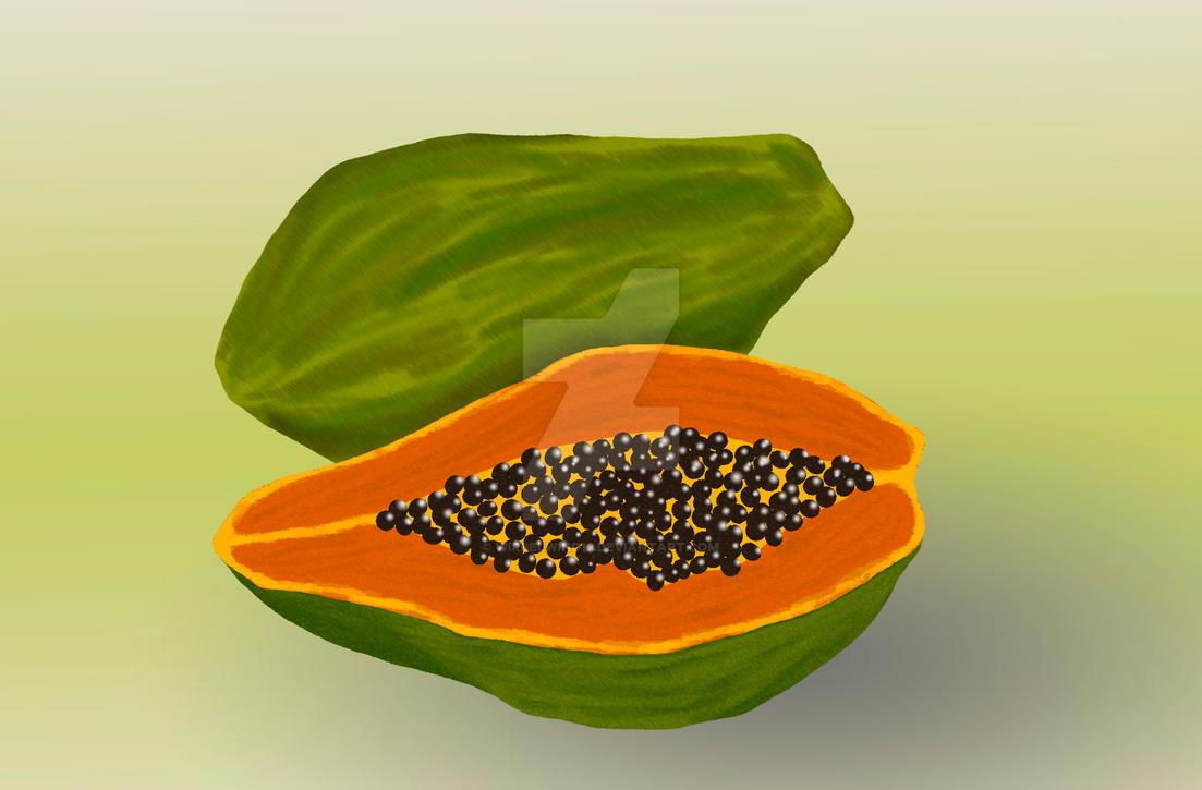 Papaya by wirbelwind13